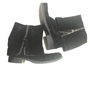 Nine West vintage America boots size 10 black sued